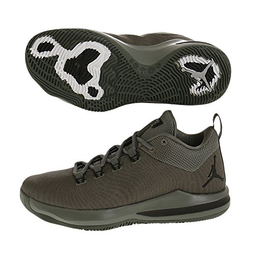 Jordan - Herren CP3.X AE Schuhe, 42.5 EU, River Rock/Black-Metallic Gold