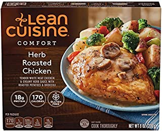 Lean Cuisine, Comfort, Frozen Herb Roasted Chicken, 8 oz (Frozen)