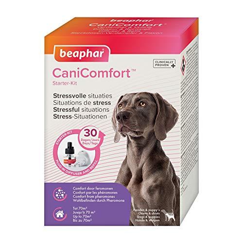 beaphar CaniComfort Starter-Kit, Beruhigungsmittel für Hunde mit Pheromonen