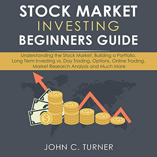Stock Market Investing Beginners Guide audiobook cover art