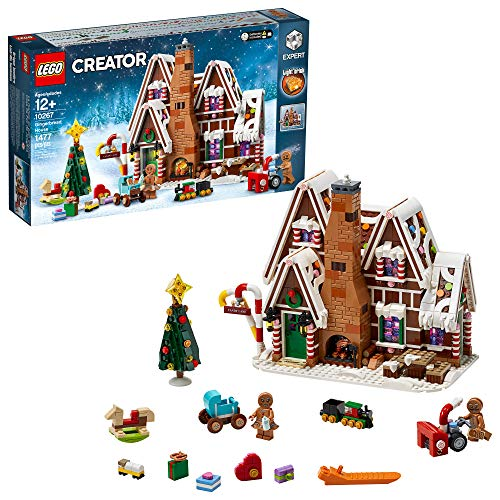 LEGO Creator Expert Gingerbread House 10267 Building Kit (1,477 Pieces)