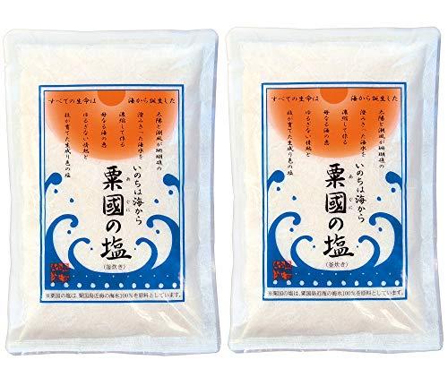 粟国の塩 500g × 2袋セット 粟國の塩 釜炊き