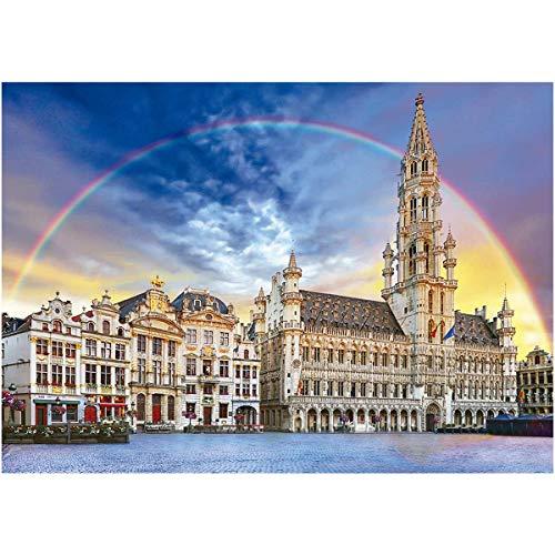 Quebra-cabeca Cartonado Bruxelas 1500 Pcs. Grow Multicor