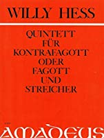 HESS W. - Quinteto Op,63 para Contrafagot, 2 Violines, Viola y Violoncello (Pauler)