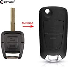 2 Buttons Folding Flip Remote Key Case Shell Fob For Vauxhall Opel Omega Vectra Frontera Astra Zafira With HU43 Blade