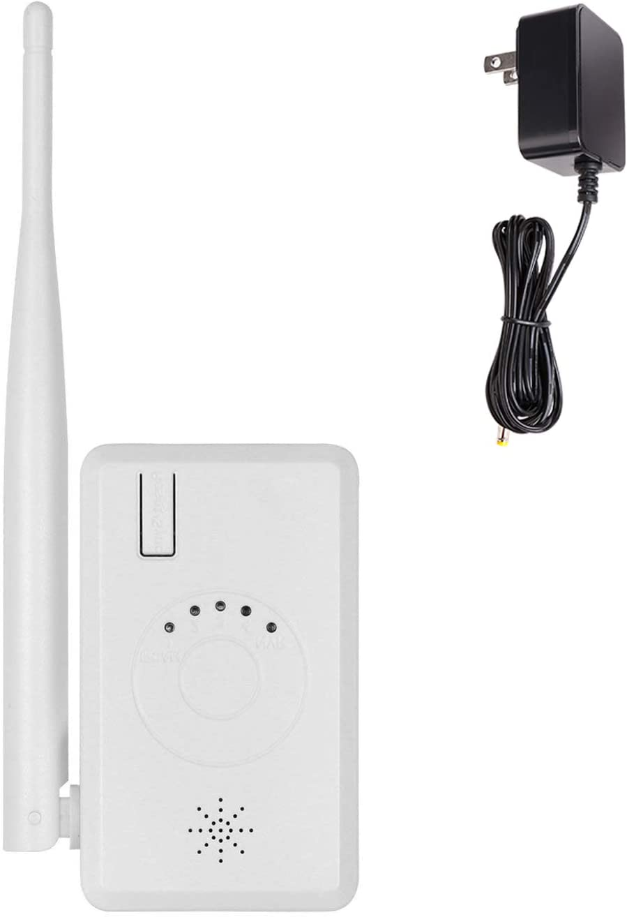 IPC Router WiFi Range Extender Repeater Extend Camera Range for Cromorc Wireless Security Camera System with Power Supply
