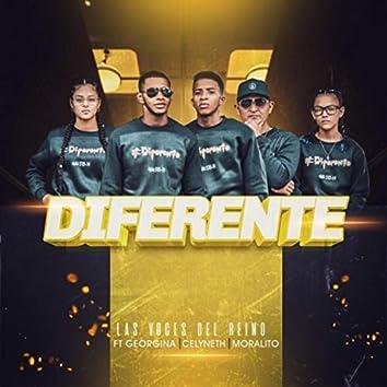 Diferente (feat. Moralito, Celyneth & Georgina)