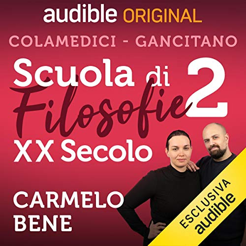 Carmelo Bene audiobook cover art