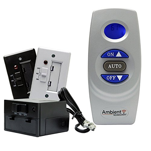 Fireplace Remote Control RCST with Thermostat LCD Battery Operated   Majestic, Monessen, Vermont Castings