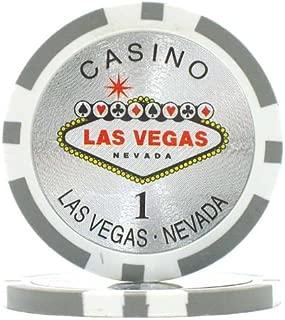 Trademark Poker Clay Laser Las Vegas Poker Chips