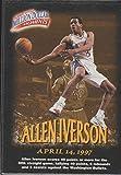 1997 Fleer Allen Iverson 76ers Million Dollar Moments Rookie Basketball Card #13 of 50
