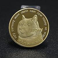 犬記念コインアニマルヘッドメダリオンコレクションギフト両面メタルゴールドバッジ