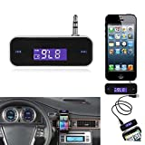 Kasstino CAR WIRELESS MP3 FM RADIO TRANSMITTER HANDS FREE FOR MOBILE IPHONE IPOD SAMSUNG