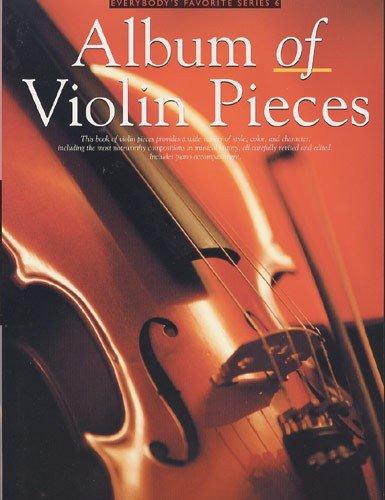 Album Of Violin Pieces. Für Violine, Klavierbegleitung