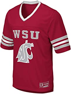 Colosseum Mens Washington State Cougars Football Jersey