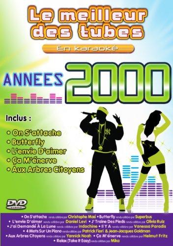 Le DVD Karaoké des tubes des années 2000