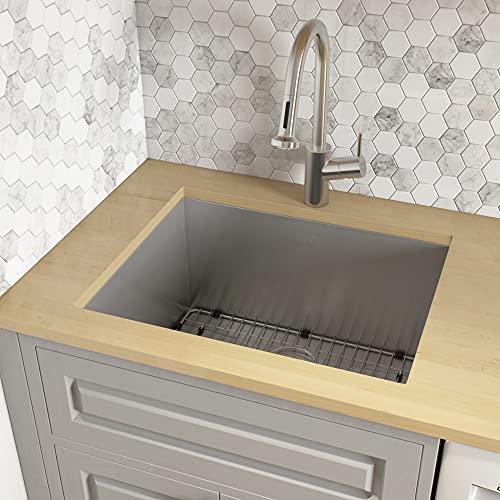 Ruvati 23' x 18' x 12' Deep Laundry Utility Sink Undermount...