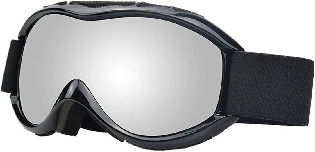 Wzdszuilhxj Gafas Ski, Doble Lente Ski Goggles Anti-Niebla Deportes al Aire Libre Skiing Goggles Adultos Snow Snowboard Gafas Protectoras Eyewear (Color : B)