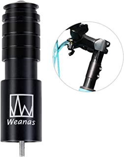 Weanas Bike Stem Riser, MTB Handlebar Riser Extender Bicycle Alloy Head up Adapter for Mountain Bike, Road Bike, MTB, BMX (1-1/8