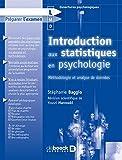 Introduction aux statistiques en psychologie