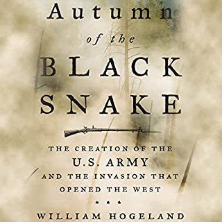 Autumn of the Black Snake audiobook cover art