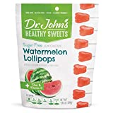 Dr. John's Healthy Sweets Sugar Free Watermelon Tooth Lollipops (14 count, 3.85 OZ)