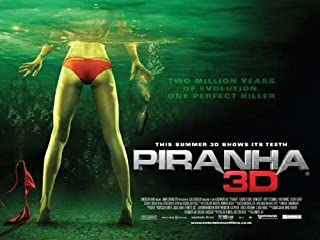 Piranha 3-D Poster Movie UK 27 x 40 Inches - 69cm x 102cm Fyodor Bondarchuk Ekaterina Vilkova Yuriy Kutsenko Aleksey Serebryakov Artyom Mikhalkov Aleksey Gorbunov Pyotr Fyodorov