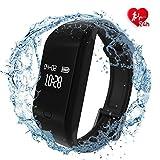 Fitpolo Montre Connectée Homme,Bracelet Connecté Femmes Podometre Cardio Enfant Smart Watch Android iOS Etanche IP68 Smartwatch...