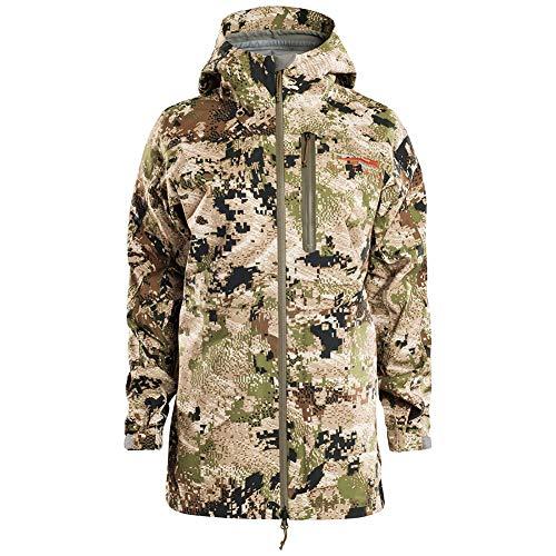 Save %20 Now! Sitka Women's Hunting Waterproof Camo Cloudburst Jacket, Optifade Subalpine, XX-Large