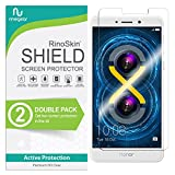 (2-Pack) RinoGear Huawei Honor 6X Screen Protector Case Friendly Screen Protector for Huawei Honor 6X Accessory Full Coverage Clear Film