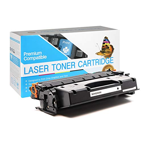 USA Advantage Remanufactured Toner Cartridge Replacement for HP 49X / Q5949X (Black,1 Pack)