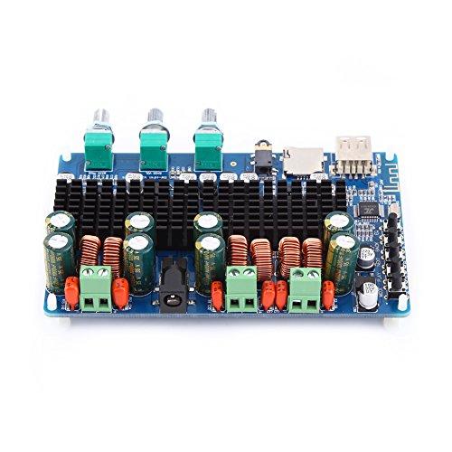 Amplificatore Digitale 2,1 Channel Amplificatore Bluetooth USB TF Input 50W * 2 + 100W Subwoofer BTL 100w Home Amplificatori Stereo per Altoparlanti DC 12V-26V