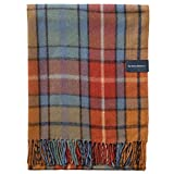 "The Tartan Blanket Co. Recycled Wool Blanket Buchanan Antique Tartan (59"" x 75"")"