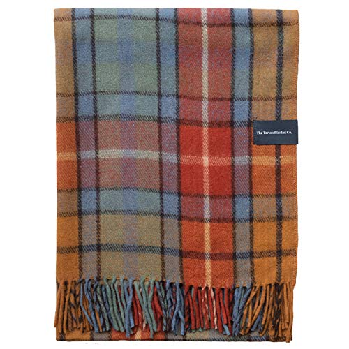 The Tartan Blanket Co. Recycled Wool Blanket Buchanan Antique Tartan (150cm...