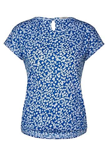 Cecil 314787 T-Shirt, Santorini Blue, S Donna
