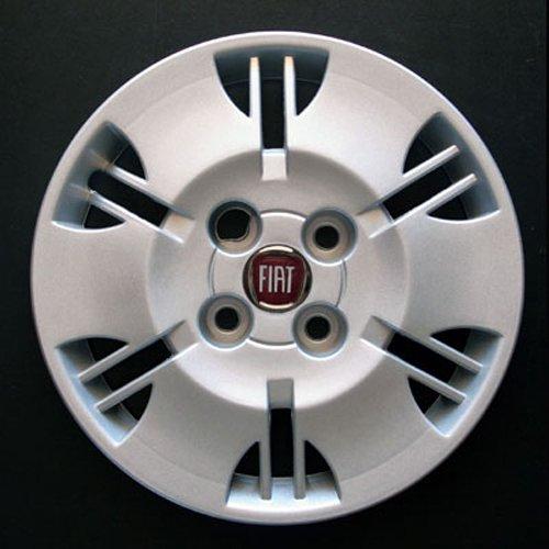 Jeu de 4 Enjoliveurs Neuf pour Fiat Panda 2000-2012 avec Roues Originales en 13 Pouces