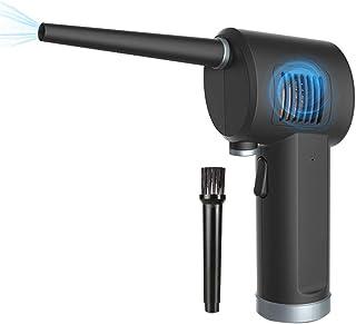 ZBL Mini Dépoussiérant Informatique électrique sans Fil Souffleur PC USB Rechargeable 6000 mAh 40000 RPM pour Ordinateur P...