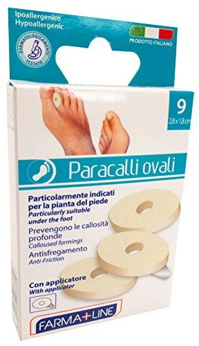 FARMALINE Patch Paracalli Oval 9 Pieces Cer3384A Care Of Feet Pediküre