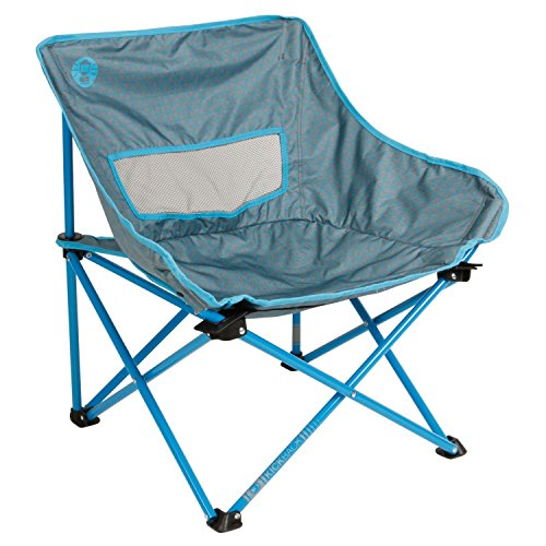 Coleman Kickback Breeze Chair, Blue, 18 x 18 x 26-Inch