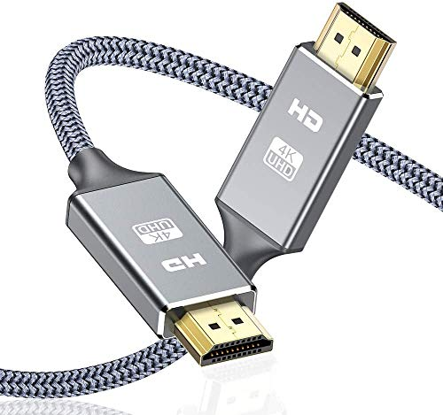 Cable HDMI 4K 3 Metros, 2.0 Cable HDMI de Alta Velocidad soporta...