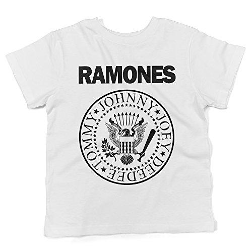 LaMAGLIERIA Jersey Shirt für Babys Ramones - Rock Baby-T-Shirt, 6-12 Monate, Weiß