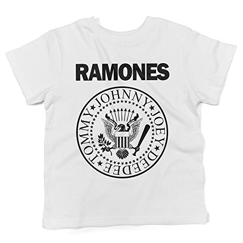 LaMAGLIERIA Camiseta para bebés Ramones - Baby T-Shirt Rock, 3-6 Mese