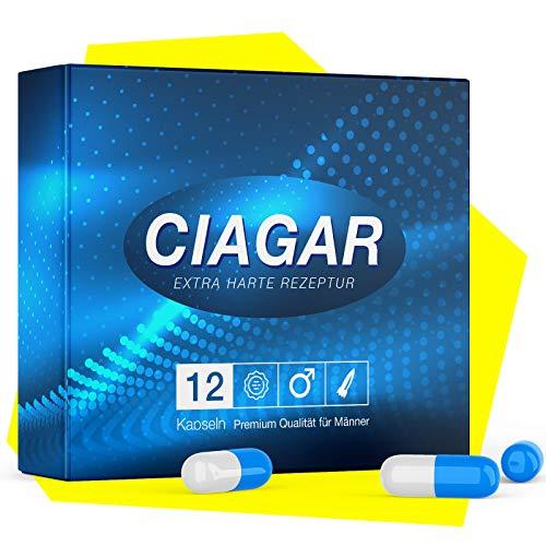 Original Ciagar I Die natürliche Alternative + GRATIS Ring I Tabletten für aktive Männer 100mg oral I NEUTRALE VERPACKUNG