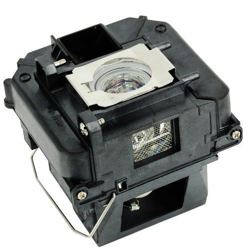 Lâmpada compatível com ELPLP68 / V13H010L68 com invólucro para EPSON PowerLite Home Cinema 3010/HC3010e/3020 3D/3020e 3D; EPSON EH-TW5900/TW5910/TW6000/TW6000W/TW6100.