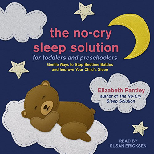 The No-Cry Sleep Solution for Toddlers and Preschoolers     Gentle Ways to Stop Bedtime Battles and Improve Your Child's Sleep              Auteur(s):                                                                                                                                 Elizabeth Pantley                               Narrateur(s):                                                                                                                                 Susan Ericksen                      Durée: 11 h et 48 min     Pas de évaluations     Au global 0,0