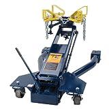 Hein-Werner Floor Style Transmission Jack, 2000 Lb, Blue (HW93718)
