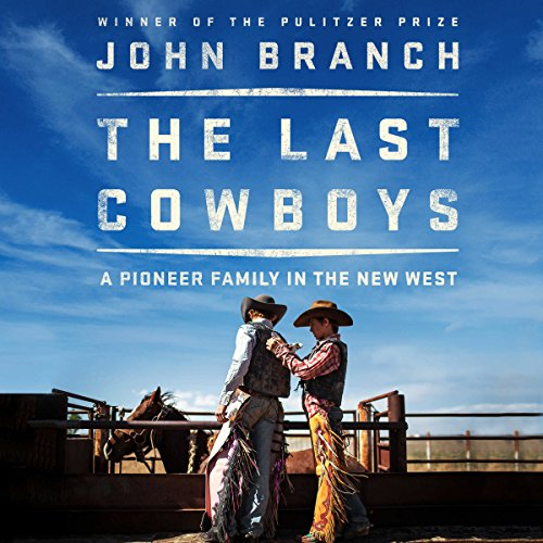 The Last Cowboys audiobook cover art