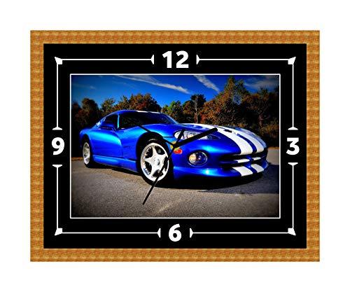 Dodge Viper SRT V10 Klok cadeau Kerstmis Verjaardag (Can worden gepersonaliseerd)