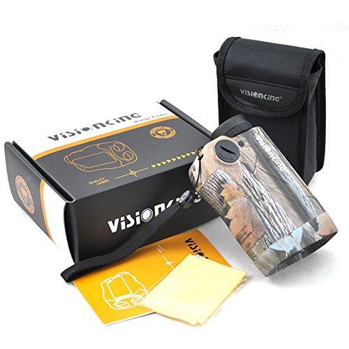 Visionking 6x25 Rangefinder Hunting Golf 600m Camo