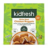 Kidfresh White Meat Chicken Nuggets, Made with Hidden Veggies and No Artificial Ingredients, Frozen Kid's Meal, VALUE-Size 14oz Bag (1-Pack)